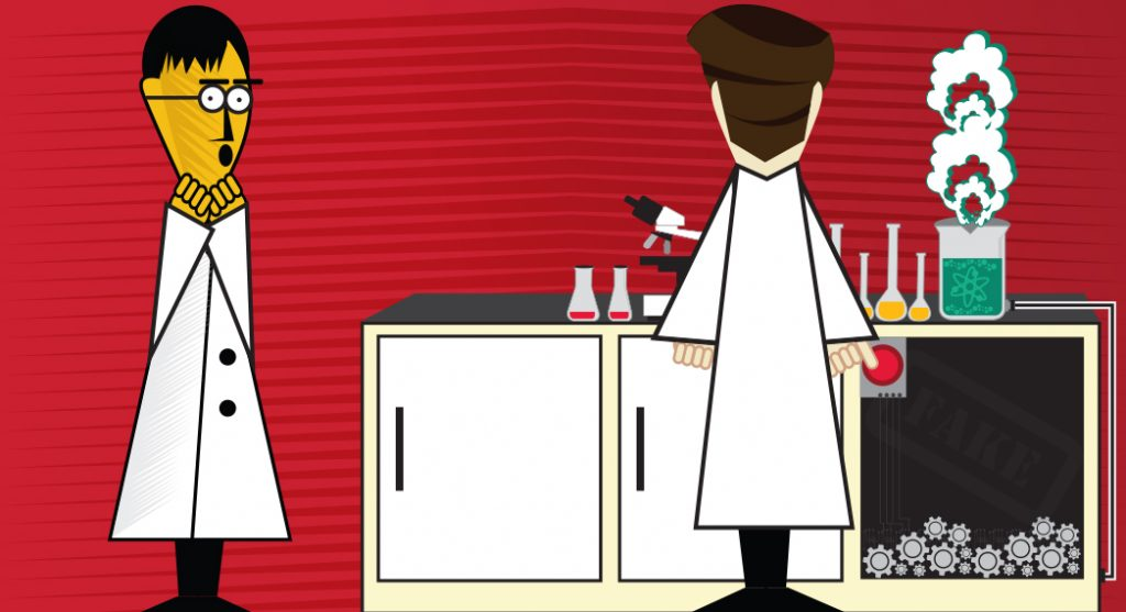 research misconduct in the lab