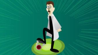 biotech startups researcher squashing coronavirus