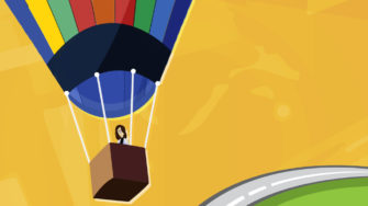 travel audit red flags, researcher in hot air balloon